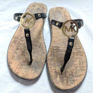 Michael Kors Jelly Flip Flops sz 8